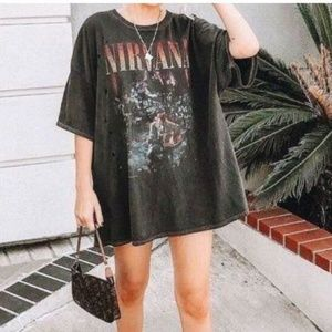 NWT Nirvana Unplugged T-Shirt Dress